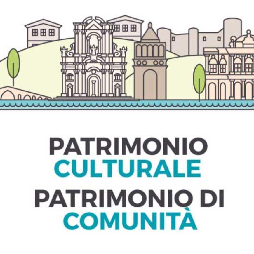 Patrimonio culturale, patrimonio di comunità. Programma completo