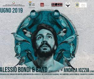Alessio Bondì & band live per Bassi Comunicanti